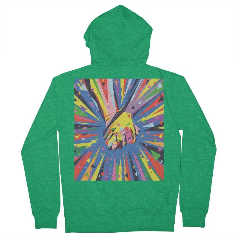 Band Together - Pride Men's Zip-Up Hoody by mrrtist21's Artist Shop