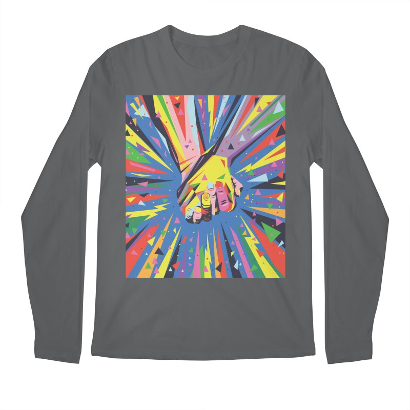 Band Together - Pride Men's Longsleeve T-Shirt by mrrtist21's Artist Shop