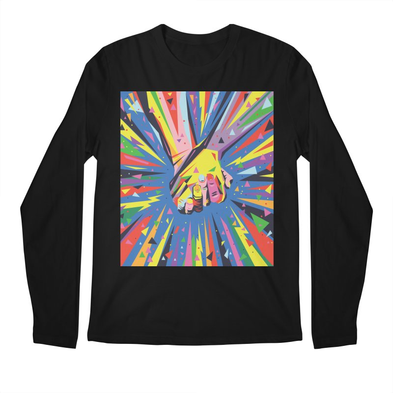 Band Together - Pride Men's Longsleeve T-Shirt by mrrtist21's Artist Shop