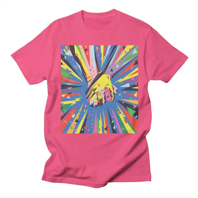 Band Together - Pride Men's T-Shirt by mrrtist21's Artist Shop