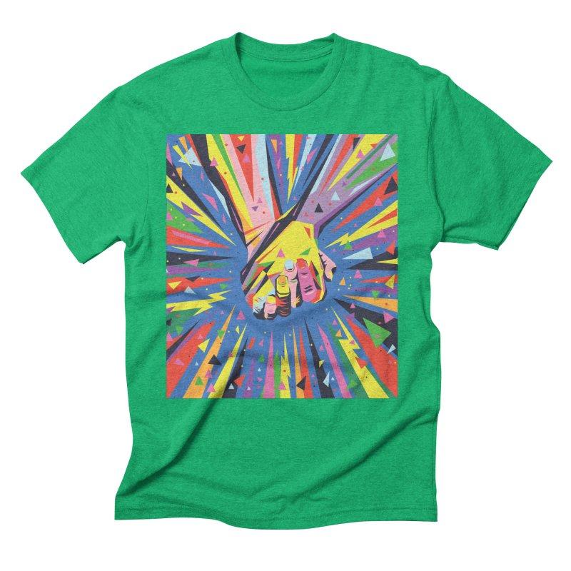 Band Together - Pride Men's Triblend T-Shirt by mrrtist21's Artist Shop