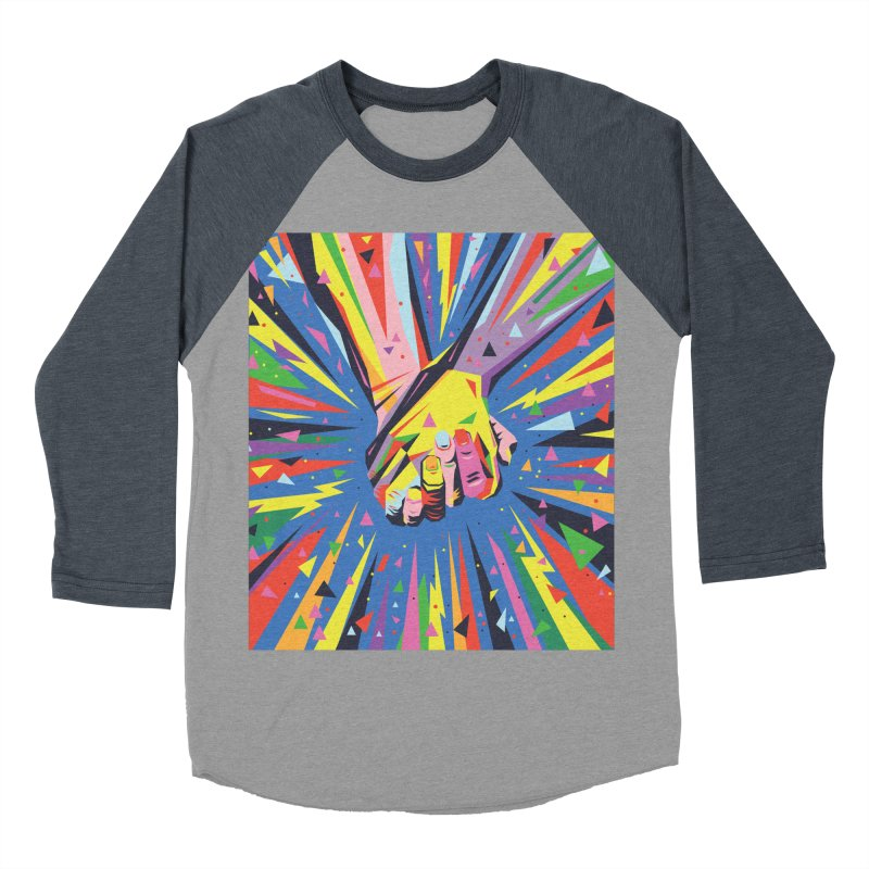 Band Together - Pride Women's Baseball Triblend T-Shirt by mrrtist21's Artist Shop