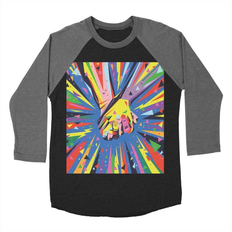 Band Together - Pride Men's Baseball Triblend T-Shirt by mrrtist21's Artist Shop