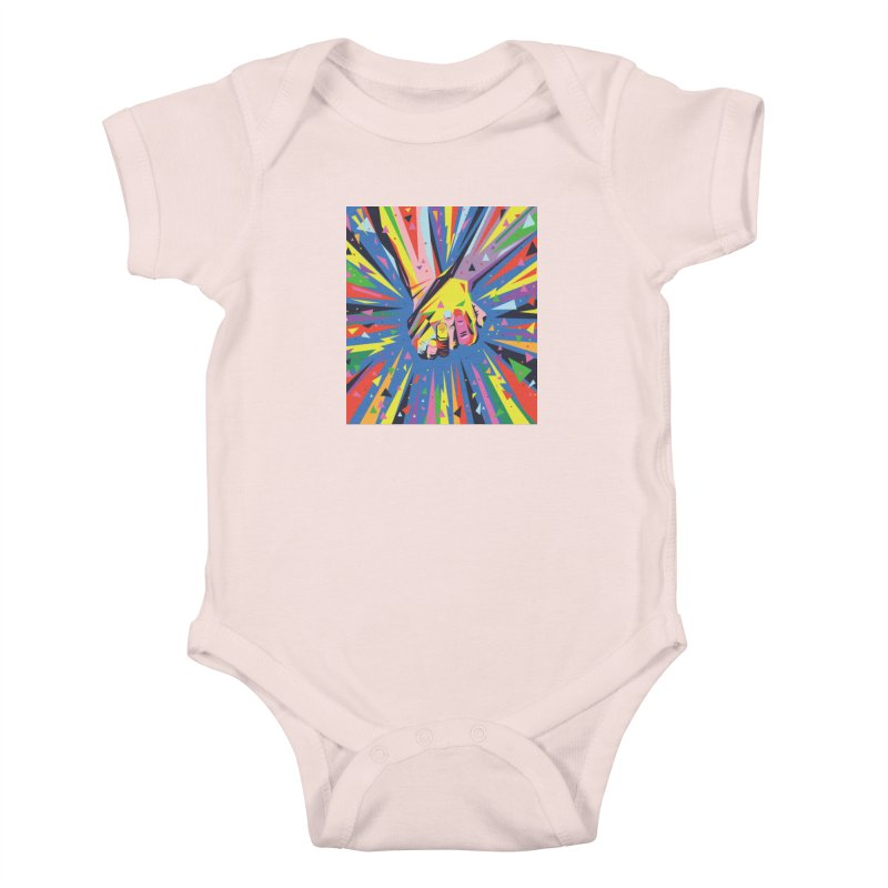 Band Together - Pride Kids Baby Bodysuit by mrrtist21's Artist Shop