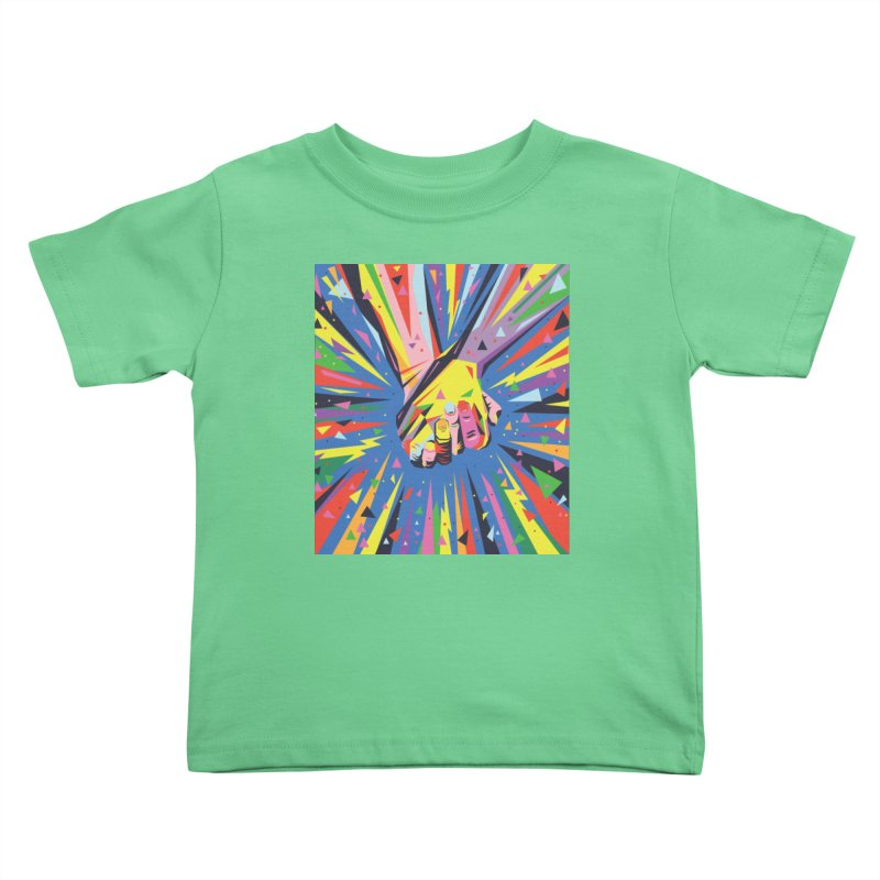 Band Together - Pride Kids Toddler T-Shirt by mrrtist21's Artist Shop