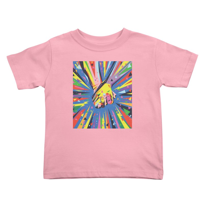 Band Together - Pride Kids Toddler T-Shirt by mrrtist21's Artist Shop