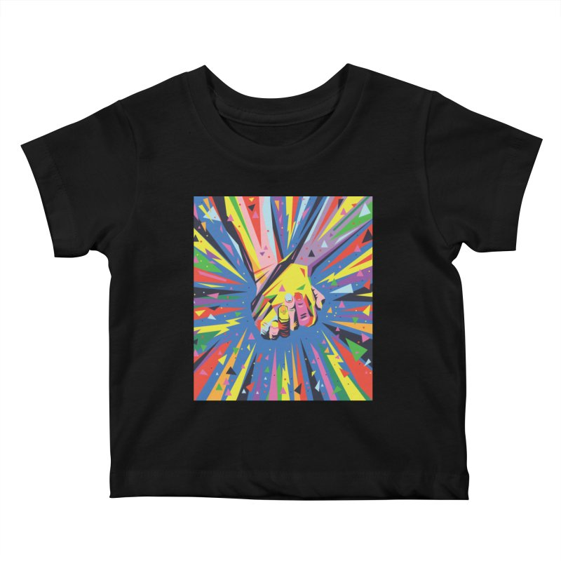 Band Together - Pride Kids Baby T-Shirt by mrrtist21's Artist Shop