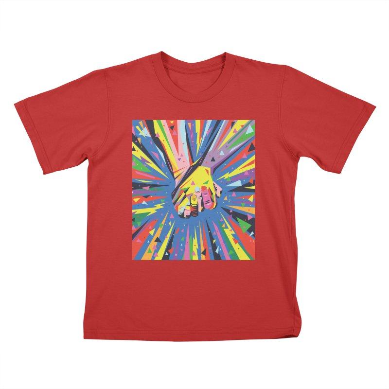 Band Together - Pride Kids T-Shirt by mrrtist21's Artist Shop