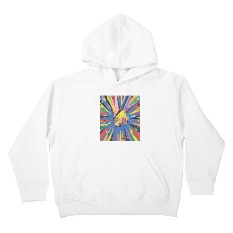 Band Together - Pride Kids Pullover Hoody by mrrtist21's Artist Shop