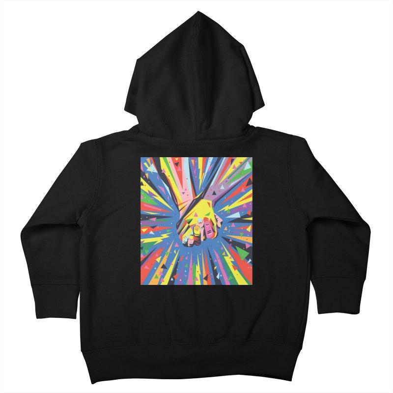 Band Together - Pride Kids Toddler Zip-Up Hoody by mrrtist21's Artist Shop