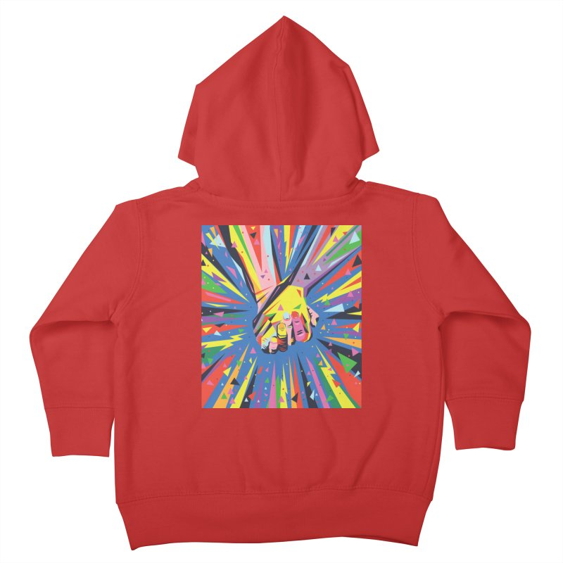 Band Together - Pride Kids Toddler Zip-Up Hoody by mrrtist21's Artist Shop
