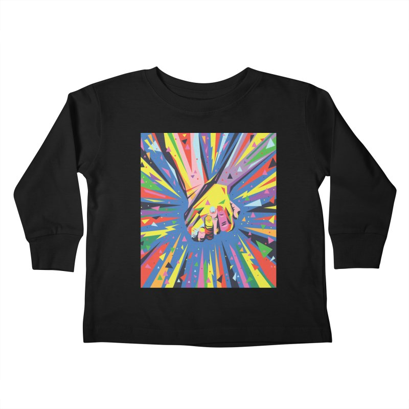 Band Together - Pride Kids Toddler Longsleeve T-Shirt by mrrtist21's Artist Shop