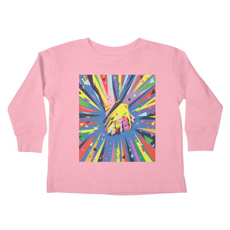 Band Together - Pride Kids Toddler Longsleeve T-Shirt by mrrtist21's Artist Shop