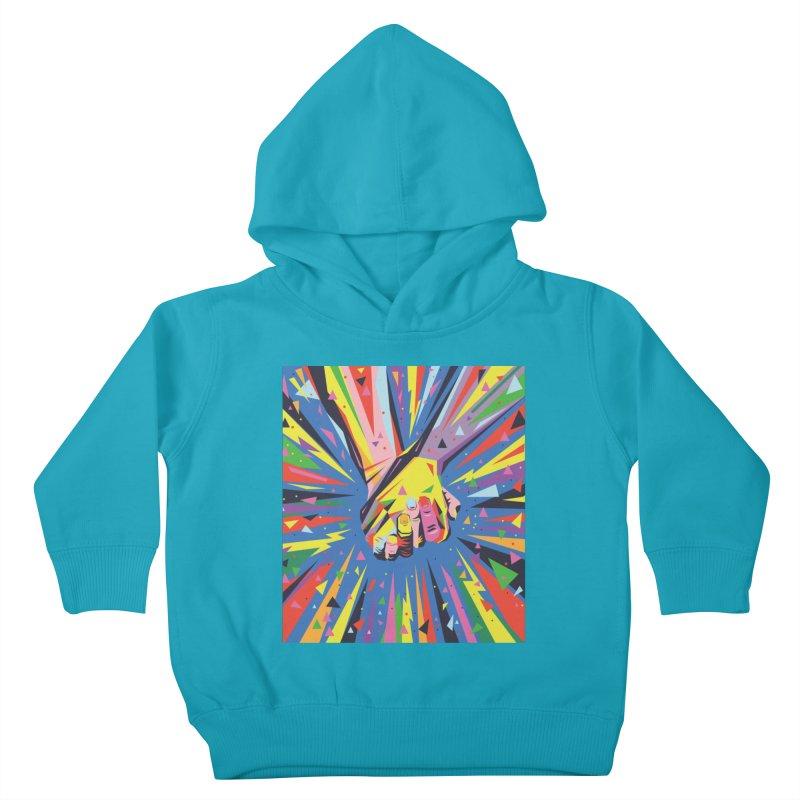 Band Together - Pride Kids Toddler Pullover Hoody by mrrtist21's Artist Shop