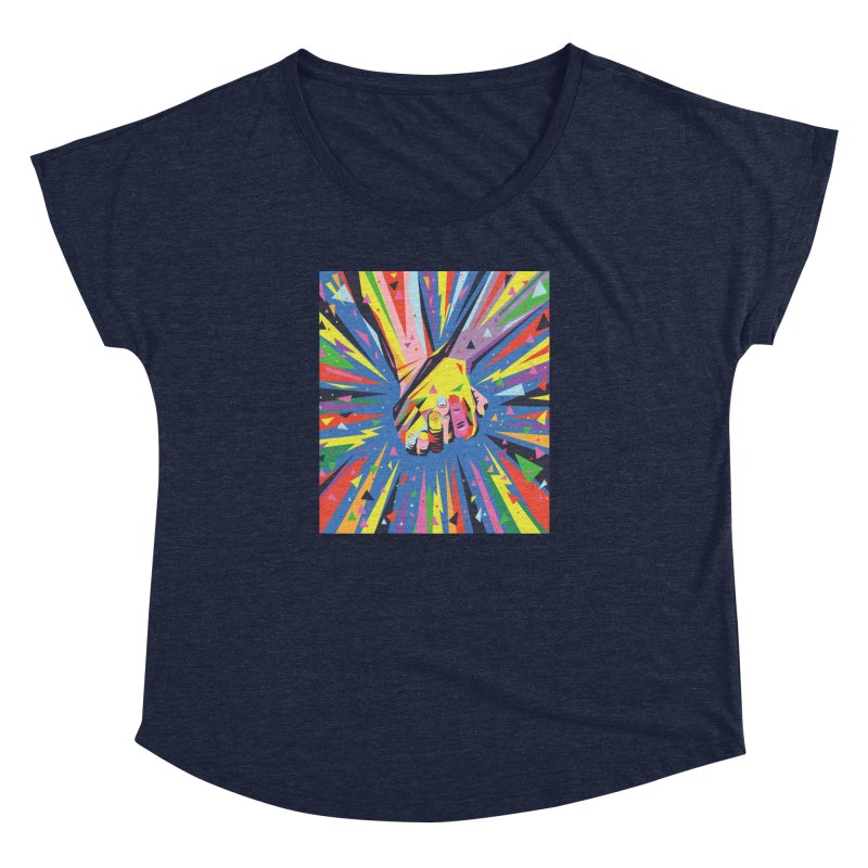 Band Together - Pride Women's Dolman by mrrtist21's Artist Shop
