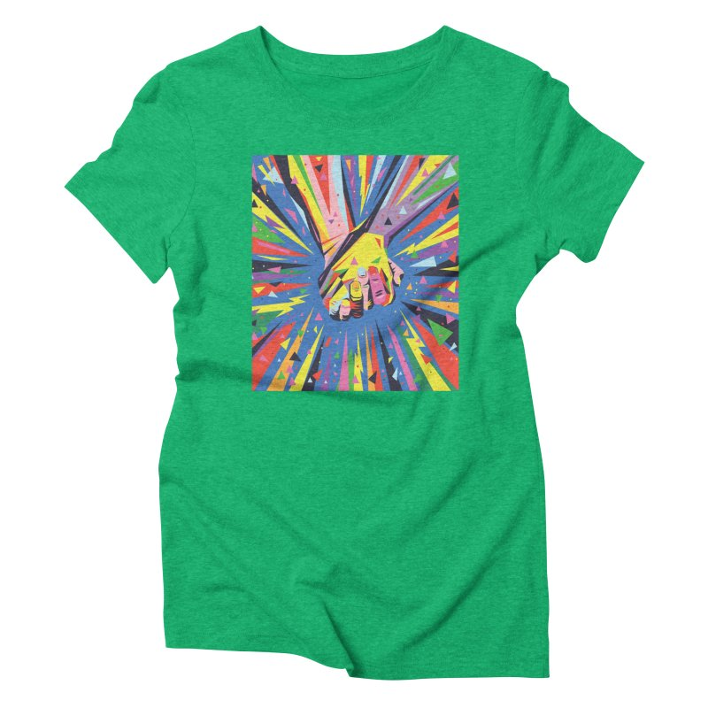 Band Together - Pride Women's Triblend T-Shirt by mrrtist21's Artist Shop
