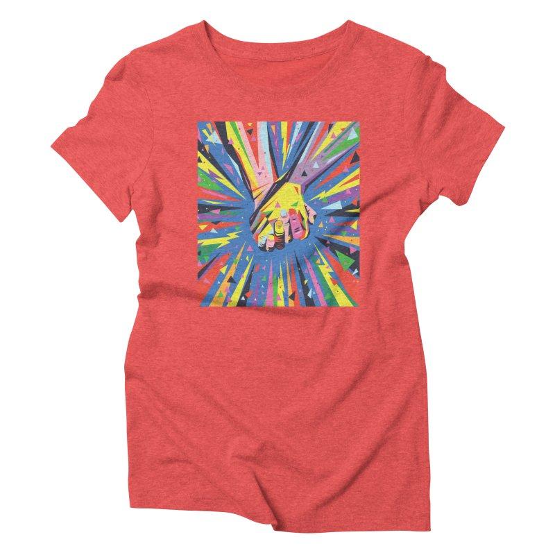 Band Together - Pride Women's Triblend T-shirt by mrrtist21's Artist Shop
