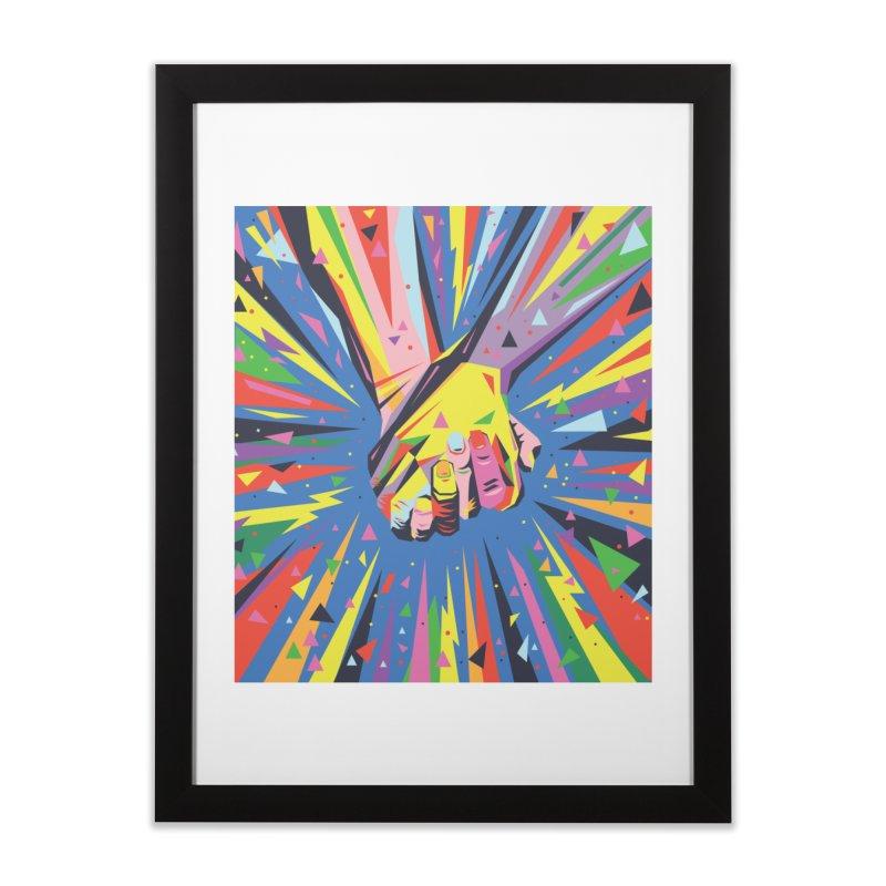 Band Together - Pride Home Framed Fine Art Print by mrrtist21's Artist Shop