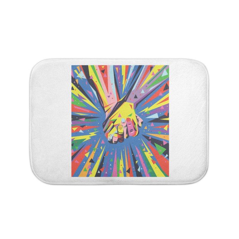 Band Together - Pride Home Bath Mat by mrrtist21's Artist Shop