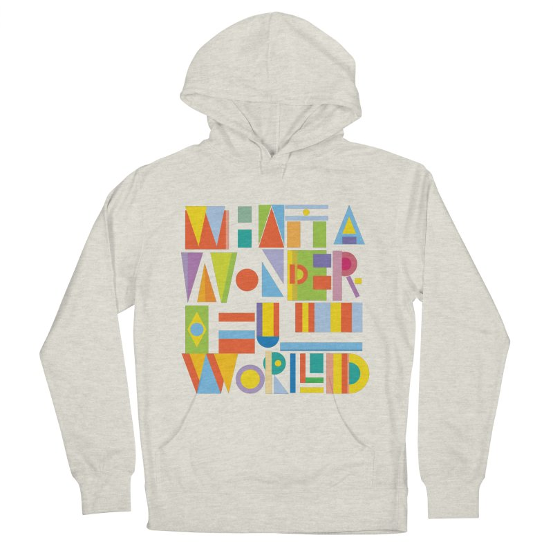 What A Wonderful World Men's Pullover Hoody by mrrtist21's Artist Shop