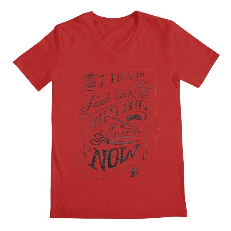 Edna Motto Men's V-Neck by mrrtist21's Artist Shop
