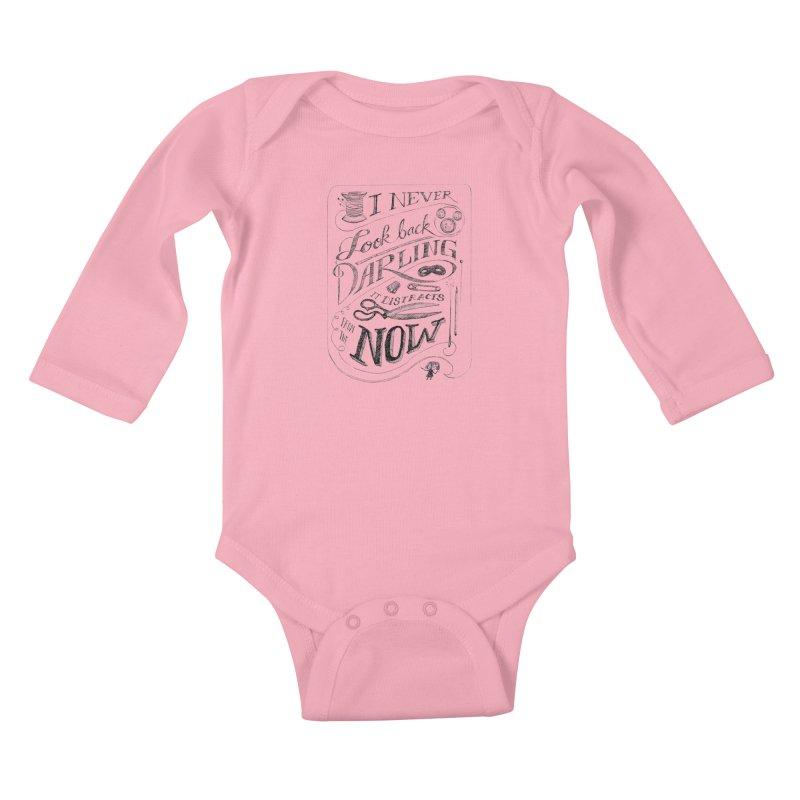 Edna Motto Kids Baby Longsleeve Bodysuit by mrrtist21's Artist Shop