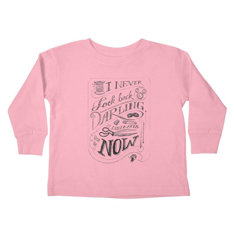 Edna Motto Kids Toddler Longsleeve T-Shirt by mrrtist21's Artist Shop