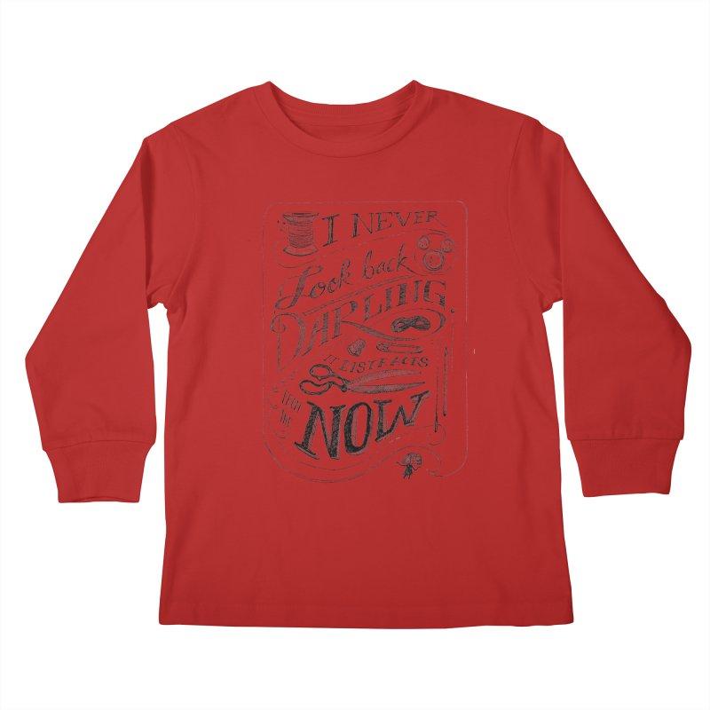 Edna Motto Kids Longsleeve T-Shirt by mrrtist21's Artist Shop