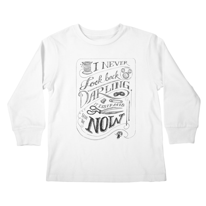 Edna Motto Kids Longsleeve T-Shirt by mrrtist21's Artist Shop