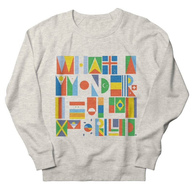 What a Wonderful World II Men's Sweatshirt by mrrtist21's Artist Shop