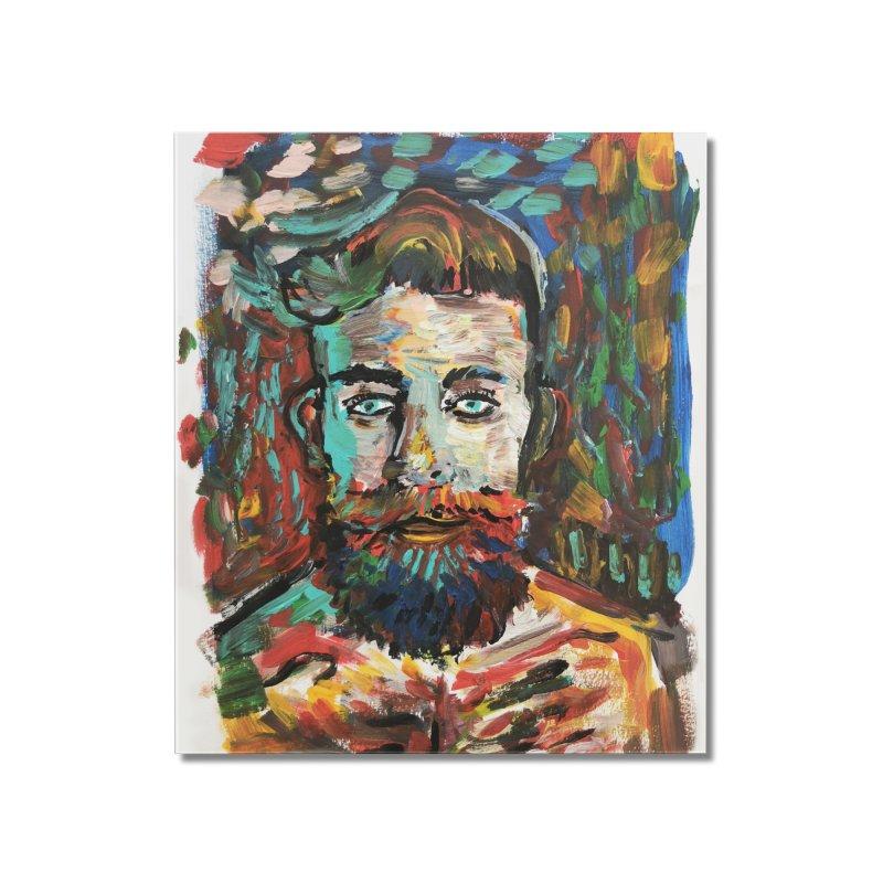 Sam con La Barba Home Mounted Acrylic Print by mrrtist21's Artist Shop