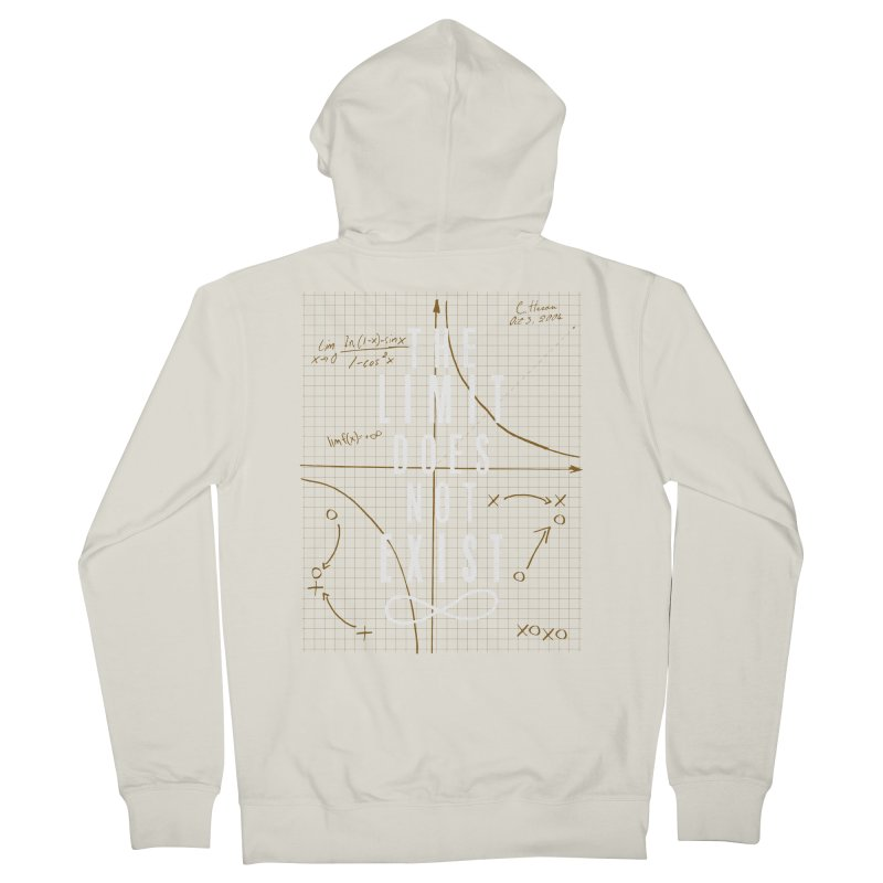 The Limit Does Not Exist Women's Zip-Up Hoody by mrrtist21's Artist Shop