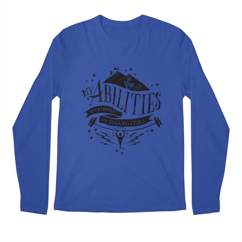 My Abilities Outweigh My Disabilities Men's Longsleeve T-Shirt by mrrtist21's Artist Shop