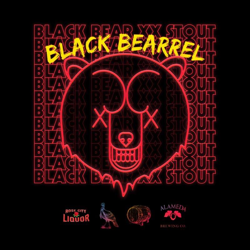 BLACK BEARREL STOUT Men's T-Shirt by Mr. Sammy