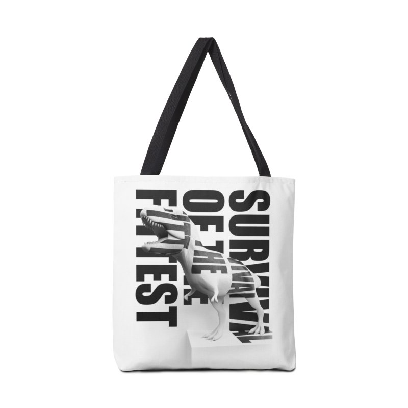 Survival of the fittest in Tote Bag by Duncan Sham
