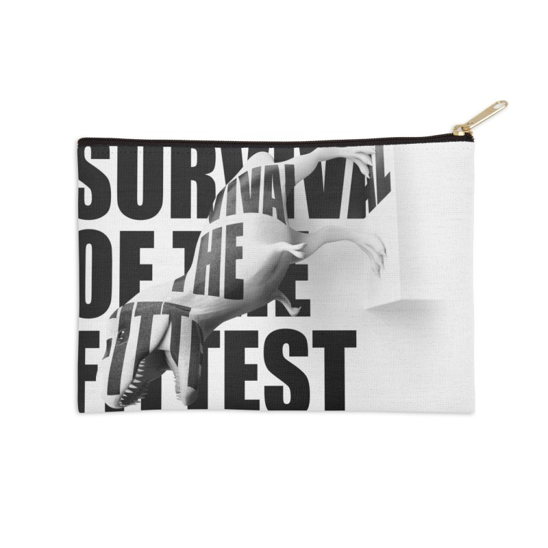 Survival of the fittest in Zip Pouch by Duncan Sham