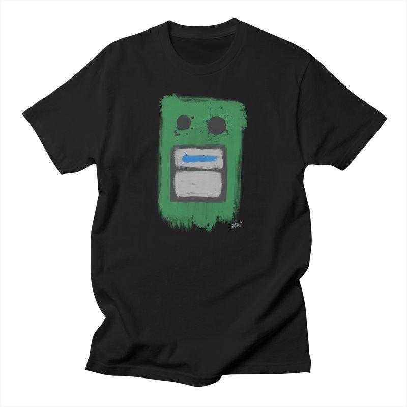 Stompbox Impressionism #1 Men's T-Shirt by Mr Tambourine Man Shop