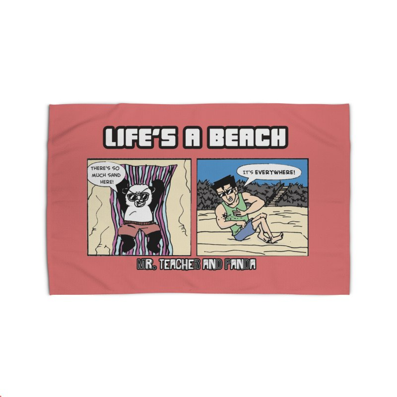 There's Sand Everywhere! Home Rug by Mr. Teacher and Panda Merchandise