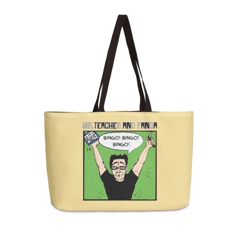 Bingo! Bingo! Bingo! Accessories Bag by Mr. Teacher and Panda Merchandise