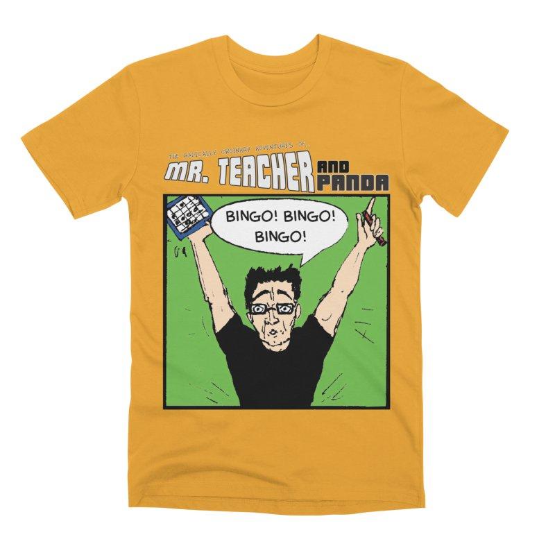 Bingo! Bingo! Bingo! Men's Premium T-Shirt by Mr. Teacher and Panda Merchandise