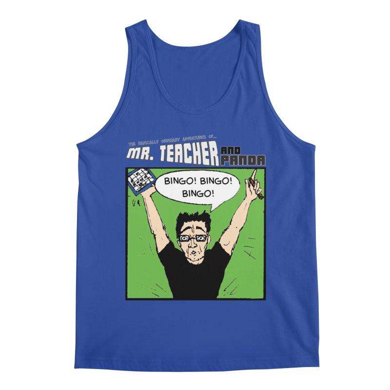 Bingo! Bingo! Bingo! Men's Regular Tank by Mr. Teacher and Panda Merchandise