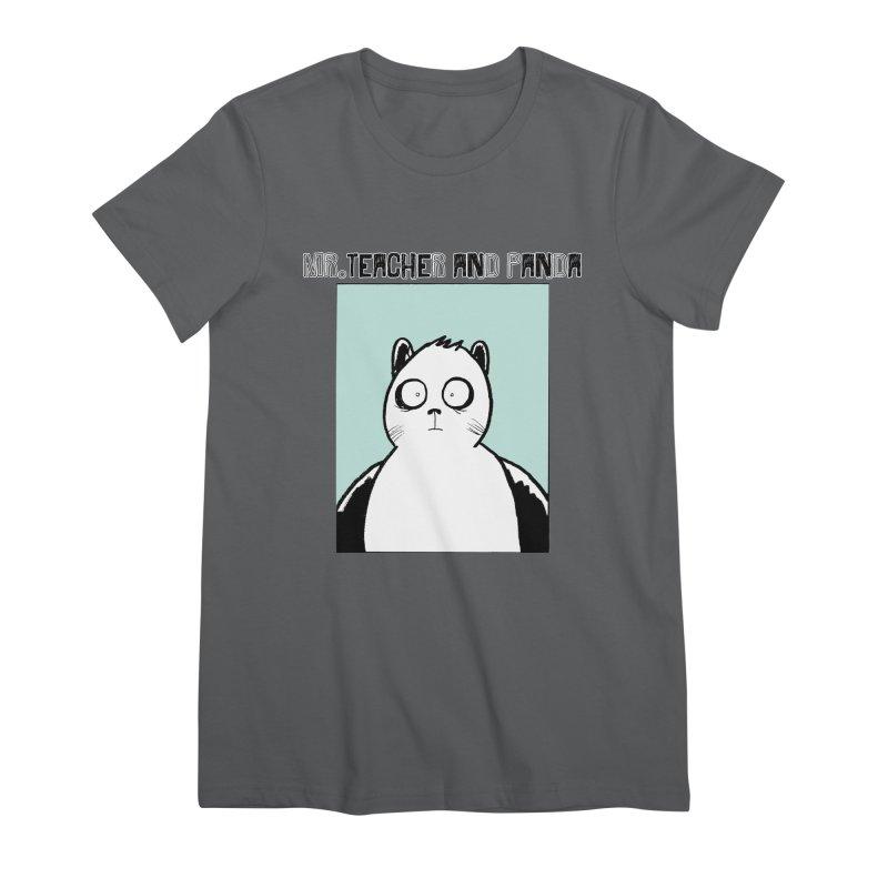 Panda Panda Panda Women's T-Shirt by Mr. Teacher and Panda Merchandise