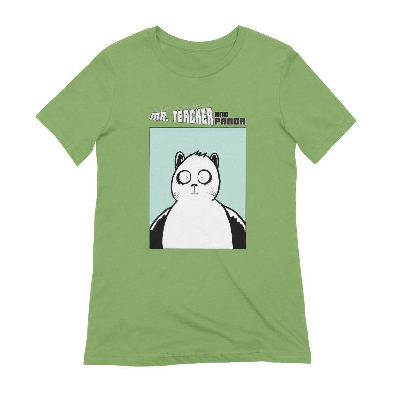 Panda Panda Panda Women's Extra Soft T-Shirt by Mr. Teacher and Panda Merchandise