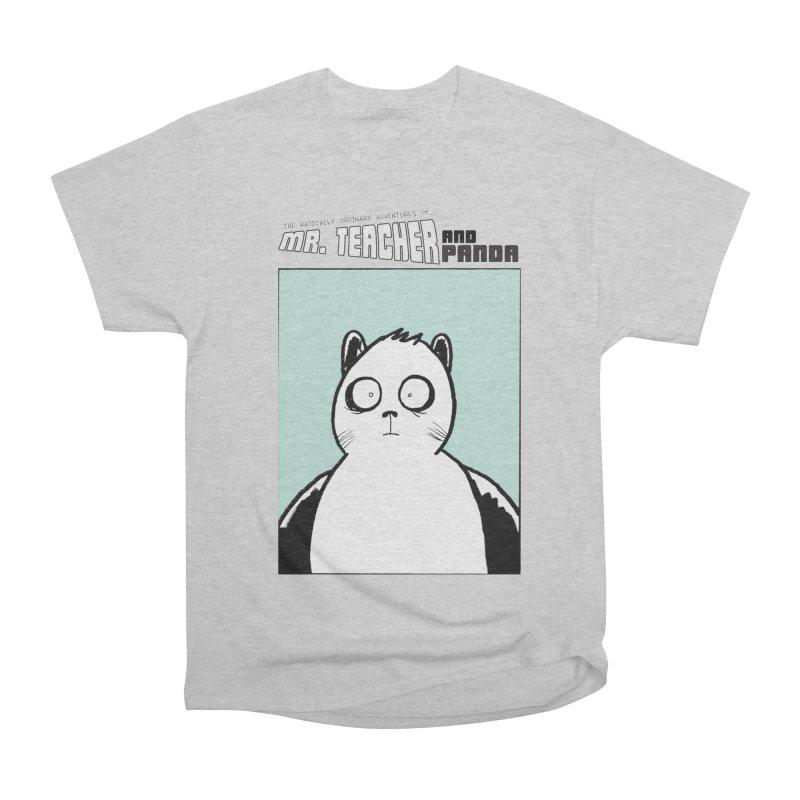Panda Panda Panda Women's Heavyweight Unisex T-Shirt by Mr. Teacher and Panda Merchandise