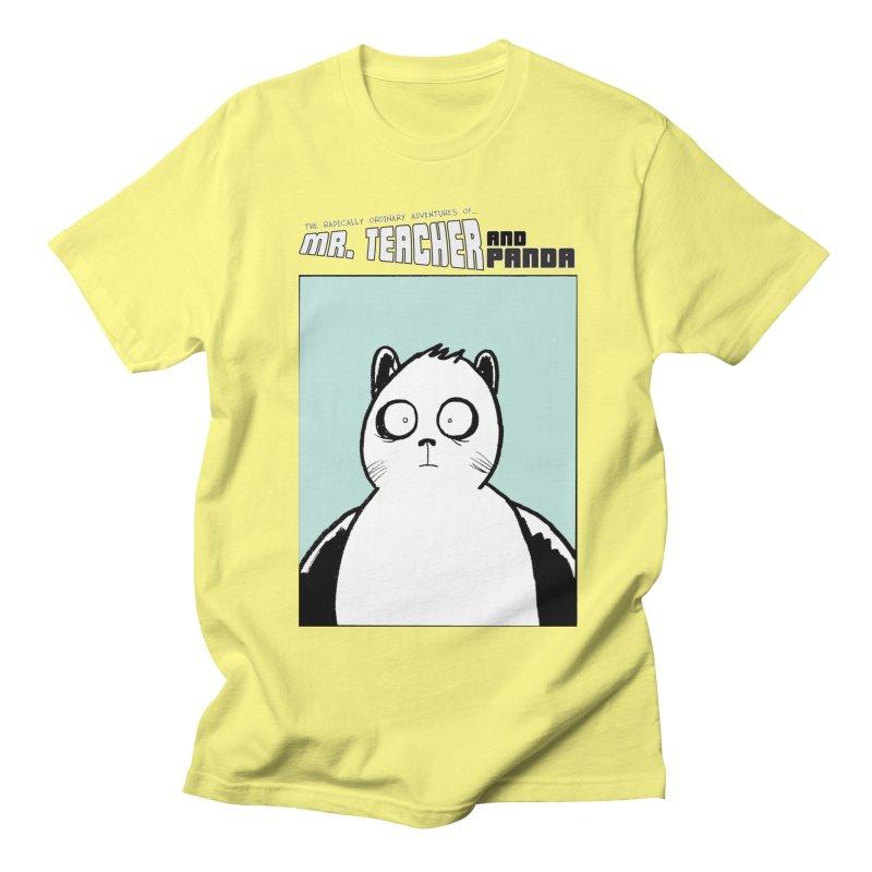 Panda Panda Panda Men's Regular T-Shirt by Mr. Teacher and Panda Merchandise