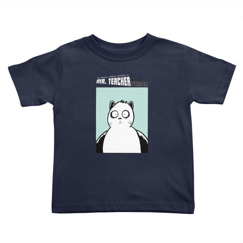 Panda Panda Panda Kids Toddler T-Shirt by Mr. Teacher and Panda Merchandise