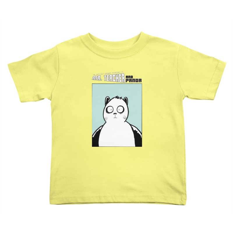 Panda Panda Panda Kids Toddler T-Shirt by Mr. Teacher and Panda Merchandise