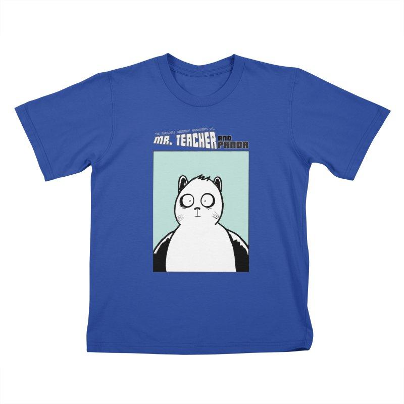 Panda Panda Panda Kids T-Shirt by Mr. Teacher and Panda Merchandise