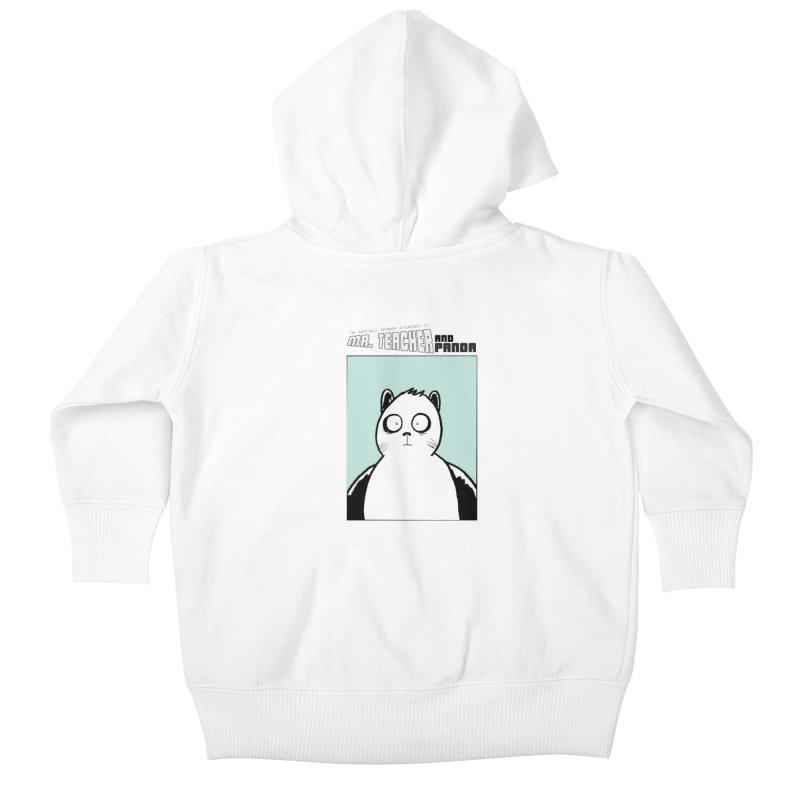 Panda Panda Panda Kids Baby Zip-Up Hoody by Mr. Teacher and Panda Merchandise