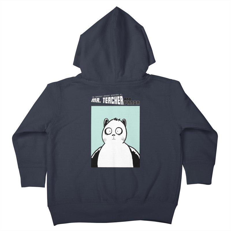 Panda Panda Panda Kids Toddler Zip-Up Hoody by Mr. Teacher and Panda Merchandise